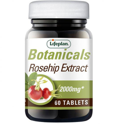 Lifeplan Rosehip Extract 60 Tablets SHORT DATED