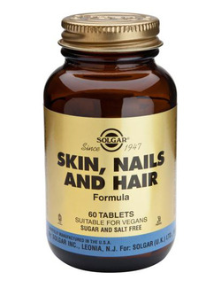 SOLGAR Skin, Nails, Hair Formula 60Tabs