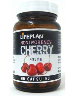 Lifeplan Montmorency Cherry 435mg - 60 Capsules