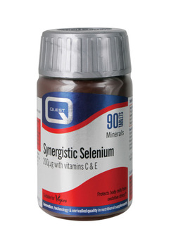 QUEST Synergistic Selenium 200ug with vitamins C & E 90 tabs