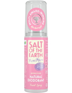 Salt of the Earth Pure Aura Lavender & Vanilla Natural Deodorant Spray 50ml Travel Size