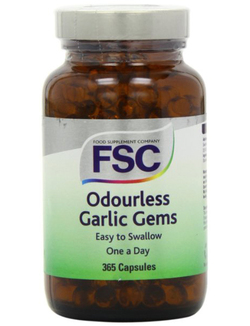 FSC Garlic Gems Odourless 365 One-a-Day Caps