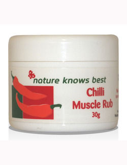 Nature Knows Best (Power Health) Chilli Muscle Rub 30g