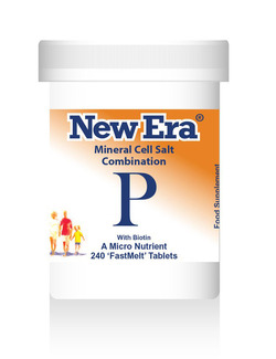 New Era Combination P Mineral Cell Salts 240 Tablets