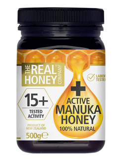 The Real Honey Co. Active Manuka Honey 15+ 500g