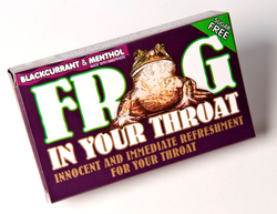 Simpkins Sugar Free Frog in Your Throat Blackcurrant & Menthol Lozenges