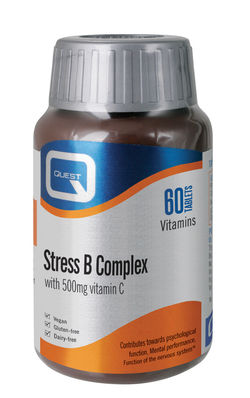 Quest Stress B Complex 60 Tablets