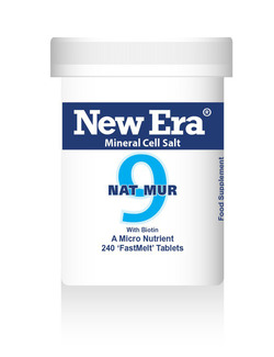 New Era No 9 Nat Mur Mineral Cell Salt 240 Tablets