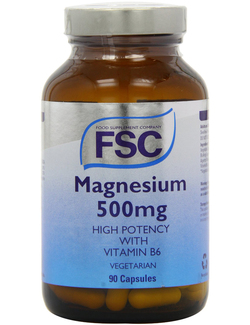 FSC Magnesium 500mg with Vitamin B6 90 Caps