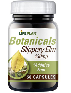 Lifeplan Slippery Elm 230mg 50 Capsules