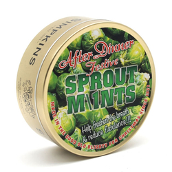 Simpkins Festive After Dinner Sprout Mints 200g Tin