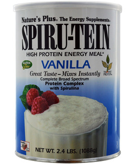 Natures Plus Spiru-Tein High Protein Vanilla 1088g