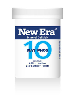 New Era No 10 Nat Phos Mineral Cell Salt 240 Tablets