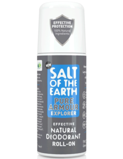 Salt of the Earth Pure Armour Explorer Natural Deodorant Roll-On 75ml