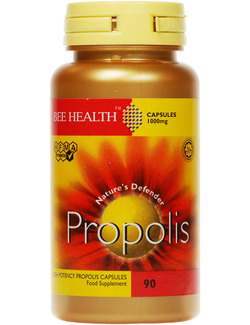Bee Health Propolis 1000mg 90 Capsules SHORT DATED