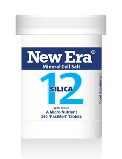 New Era No 12 Silica Mineral Cell Salt 240 Tablets