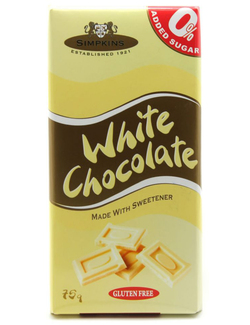 Simpkins No Added Sugar White Chocolate 75g