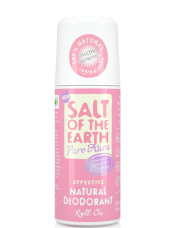 Salt of the Earth Pure Aura Lavender & Vanilla Natural Deodorant Roll-On 75ml