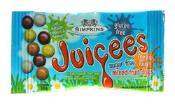 Simpkins Juicees Sugar Free Mixed Fruit Drops Mini Pack