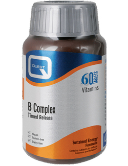 Quest B Complex Timed Release 60 Tablets