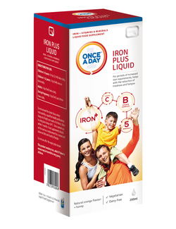 Quest Once a Day Iron Plus Liquid 200ml