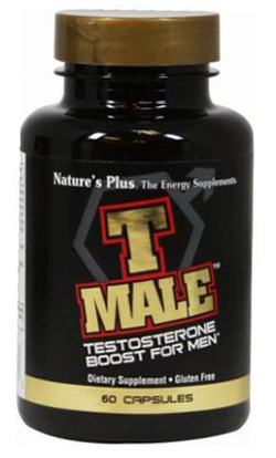 Natures Plus T Male Testosterone Support for Men 60 Capsules