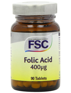 FSC Folic Acid 400ug 90 Tablets