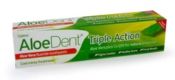 Optima Aloe Dent Aloe Vera Toothpaste Triple Action + FLUORIDE 100ML