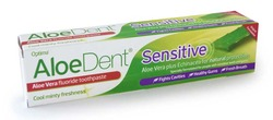 Optima Aloe Dent Aloe Vera Toothpaste Sensitive FLUORIDE 100ml