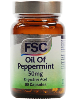 FSC Oil of Peppermint 50mg 90 Capsules