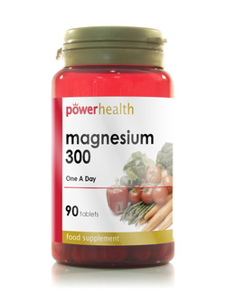 Power Health Magnesium 300mg - 90 Tablets