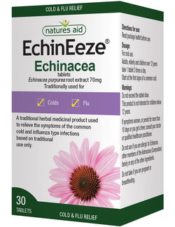 Natures Aid EchinEeze Echinacea Extract 30 Tablets