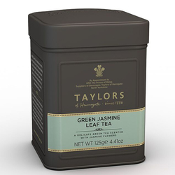 Taylors of Harrogate Green Jasmine Leaf Tea 125g CADDY