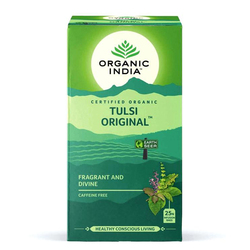 ORGANIC INDIA Original Tulsi Tea (Holy Basil) 25 Tea Bags
