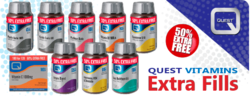 Quest Vitamins Extra Fill Packs