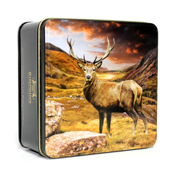 Simpkins British Stag Gift Tin with Mixed Fruit Drops 250g