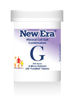 New Era Combination G Mineral Cell Salts 240 Tablets