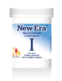 New Era Combination I Mineral Cell Salts 240 Tablets