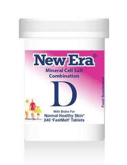 New Era Combination D Mineral Cell Salts 240 Tablets