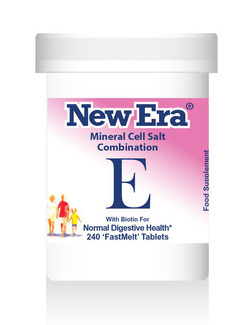 New Era Combination E Mineral Cell Salts 240 Tablets