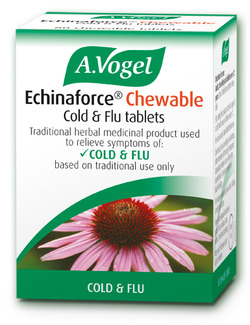 A.Vogel Echinaforce Chewable Echinacea Cold & Flu Tablets 80 Tablets