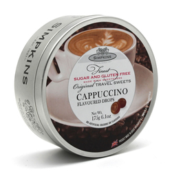Simpkins Sugar Free Cappuccino Travel Sweets 175g Tin