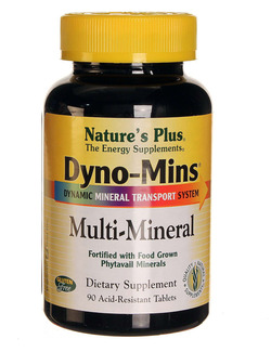 Natures Plus Dyno-Mins Multi Minerals 90 Tabs SHORT DATED