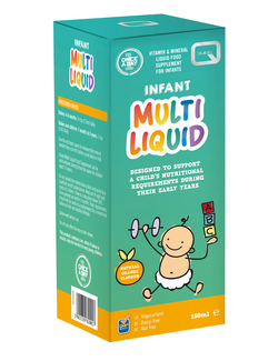Quest Once A Day Infant Multi Liquid 150ml SHORT DATED