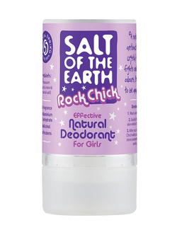 Salt of the Earth Rock Chick Natural Deodorant For Girls 90g