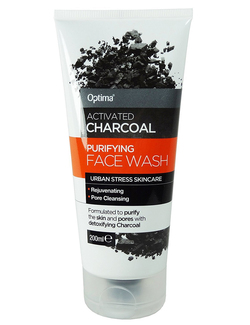 Optima Activated Charcoal Purifying Face Wash 200ml