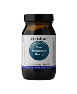 VIRIDIAN Saw Palmetto Berry Extract 90 Veg.Caps