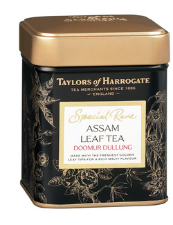 Taylors of Harrogate Special Rare Assam Leaf Tea Caddy 100g
