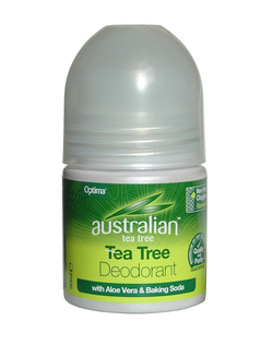 Optima Australian Tea Tree Deodorant with Aloe Vera 50ml