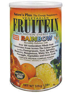 Natures Plus Fruitein High Protein Energy Shake Rainbow 576g